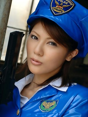 Kinky Asian cop is a real slutty shot in the dark with her excellent talents